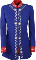 The Extreme Collection Intense Blue Frock Coat Blazer Heidi