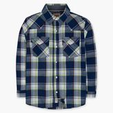 Levi's Toddler Boys (2T-4T) Barstow Western Plaid Shirt