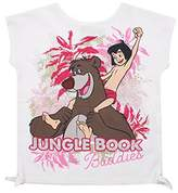 Disney Girl's Jungle Book-Buddies-Kids T-White Track Jackets