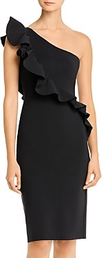 Chiara Boni Marine Ruffled One-Shoulder Dress - 100% Exclusive