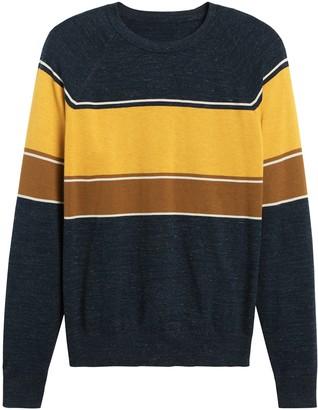 Banana Republic Cotton Stripe Sweater