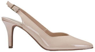 Sandler Maestro Nude Patent Heeled Shoes