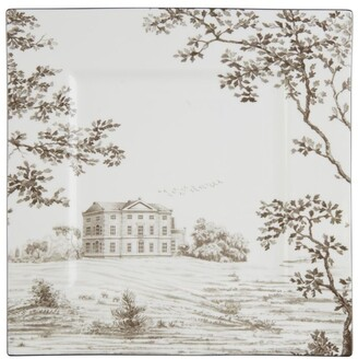 Wedgwood Parklands Square Plate (25Cm)