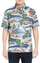 Reyn Spooner Men's Hawaiian Christmas Pullover Sport Shirt