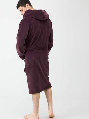 Very Super Soft Dressing Gown - Plum