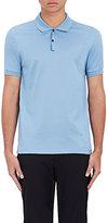 Lanvin Men's Cotton Embroidered Polo Shirt