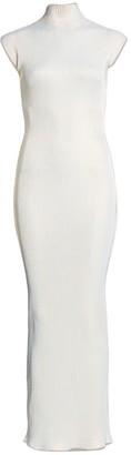 Helmut Lang Lurex Maxi Dress