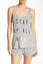 Junk Food Clothing Stay Up All Night Graphic Tank