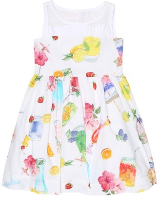 MonnaLisa Printed cotton dress