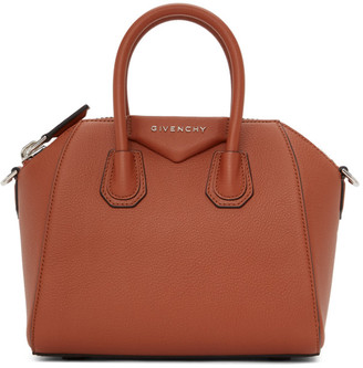 Givenchy Orange Mini Antigona Bag