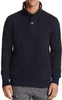 Superdry Bastille Striped Collar Sweatshirt