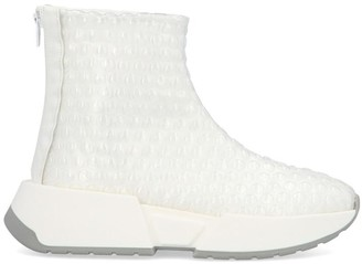 MM6 MAISON MARGIELA Bubble Wrap Zipped Sneakers