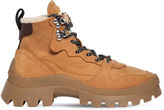 DSQUARED2 40mm Tank Cliff Nubuck Hiking Boots