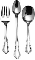 Oneida Chateau Floral 3-Piece Baby Stainless Steel Flatware Set