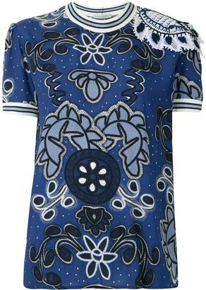 Martha Medeiros Eduarda Lorain printed blouse