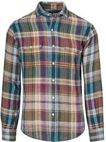 Big & Tall Polo Ralph Lauren Plaid Linen Workshirt