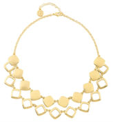 Liz Claiborne Gold-Tone 2-Row Drama Necklace
