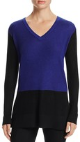 Vince Camuto Waffle Knit Color Block Sweater