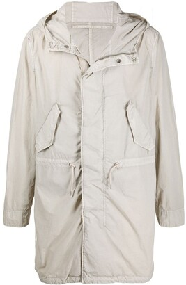 AllSaints Long-Length Rain Coat