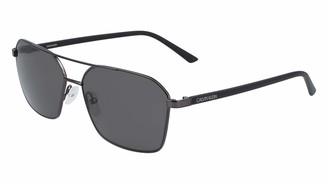Calvin Klein Men's CK20300S 5815 (008) GUNMETAL Sunglasses