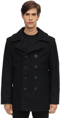 Schott 740 Melton Wool & Nylon Pea Coat