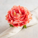 Pier 1 Imports Coral Pink Peony Napkin Ring