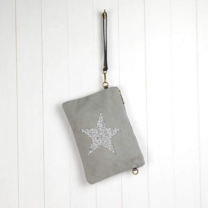 592e5acf1db5c3 Dark Grey Clutch Bag - ShopStyle UK