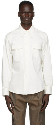Lemaire White Western Shirt
