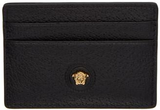 Versace Black Medusa Card Holder