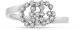 Gucci GG Running 18k ring with diamonds