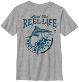 Fifth Sun Athletic Heather 'Reel Life' Tee - Boys