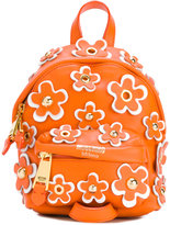 Moschino mini flower power backpack - women - Leather - One Size