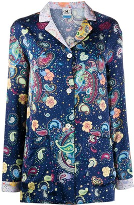 M Missoni Paisley Embroidered Shirt