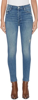 Mother 'The Stunner Ankle Fray' skinny jeans