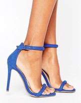 Missguided Barely There Heeled Sandal