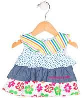 Agatha Ruiz De La Prada Girls' Sleeveless Ruffle Dress w/ Tags