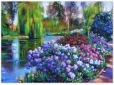 "David Lloyd Glover 'Promise of Spring' 35"" x 47"" Canvas Wall Art"
