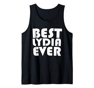 Cute Worlds Best Lydia Ever T-Shirt Women Girl Kid Shirt Tank Top