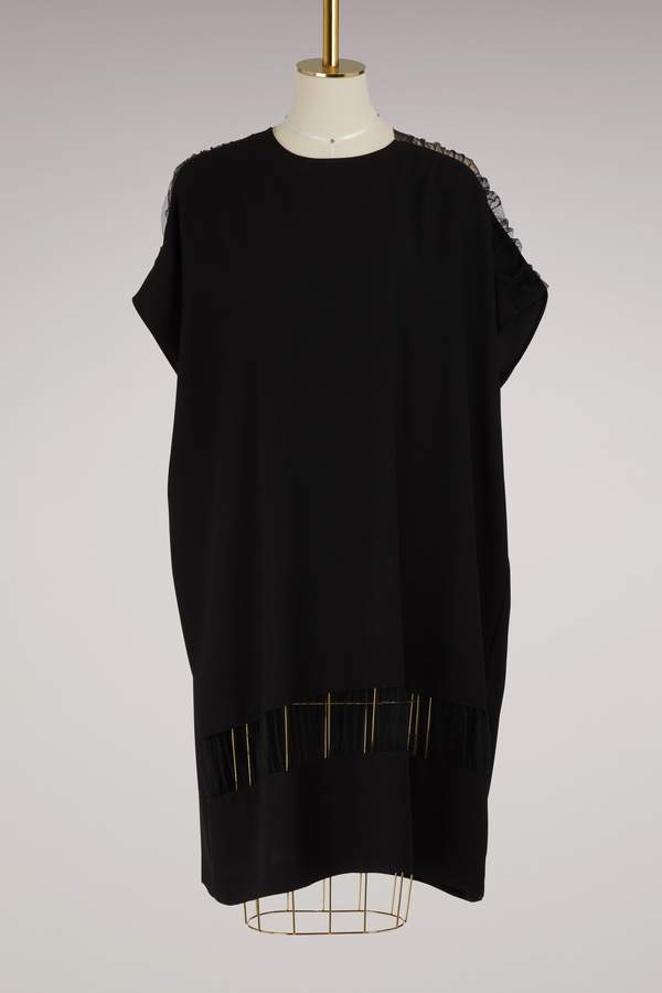 Maison Margiela Transparent detail dress