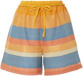 A Peace Treaty Tomar Striped Shorts
