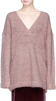 Dion Lee Oversized bouclé knit sweater