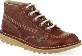 Kickers Leather boots 10-11 years