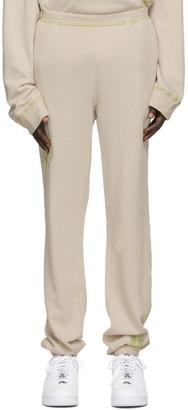Phlemuns Tan French Terry Lounge Pants
