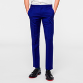 Paul Smith Men's Slim-Fit Indigo Wool-Mohair Trousers