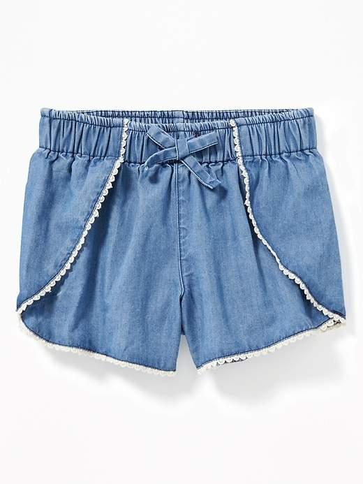 b5a865a20 Old Navy Blue Girls' Shorts - ShopStyle