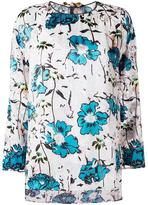 Antonio Marras floral print blouse - women - Polyamide/Polyester/Spandex/Elastane/Viscose - 42