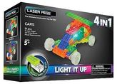 Laser Pegs MPS 4 in 1 Cars Lighted Construction Toy