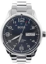 HUGO BOSS Black 1513329 Pilot Vintage Watch Silver