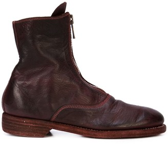 Guidi Front Zipped Boots