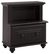 The Well Appointed House Treasures Nightstand with Optional Hutch
